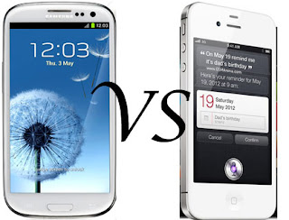 Iphone 5 vs s3