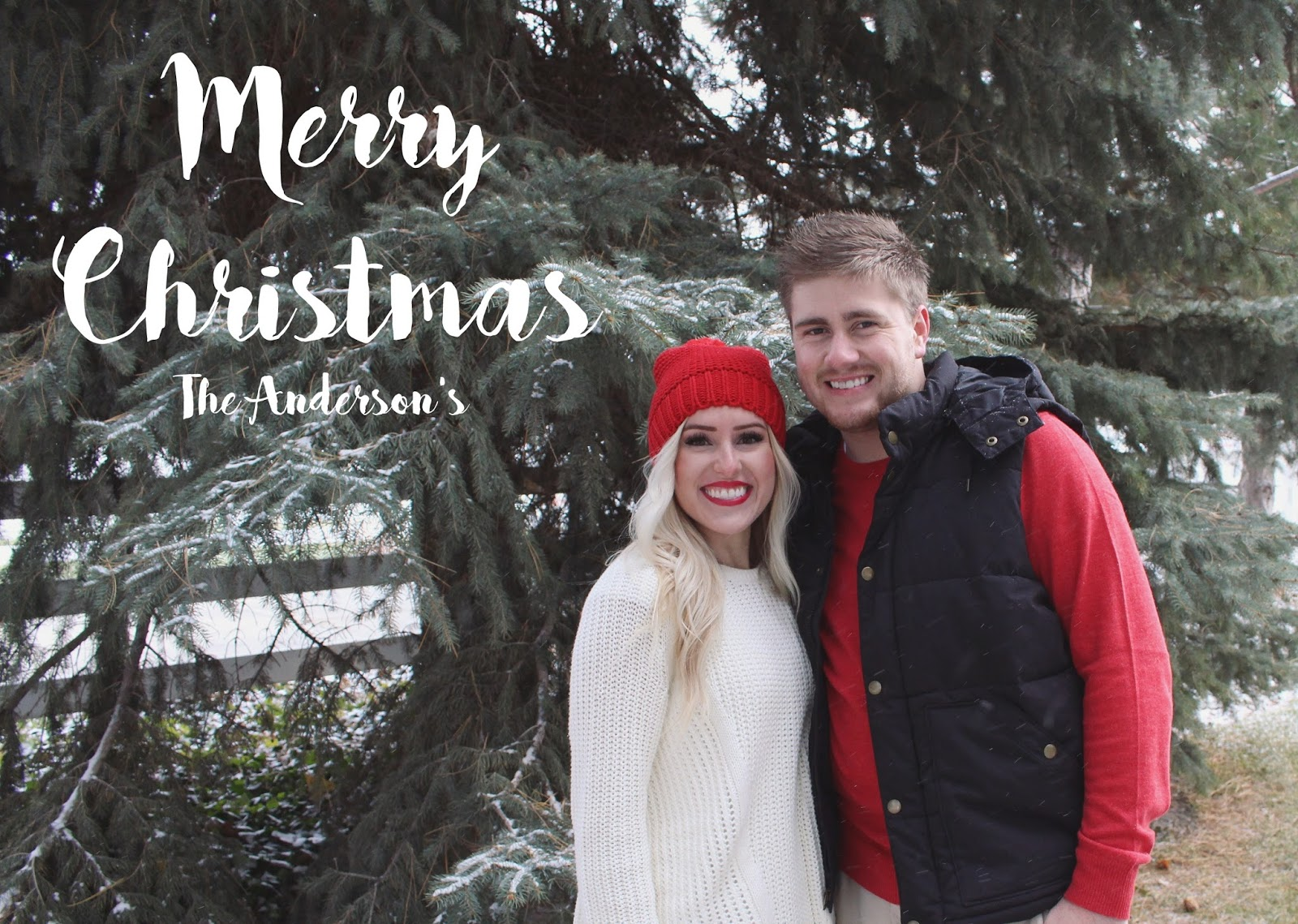 Merry Christmas from The Anderson's...
