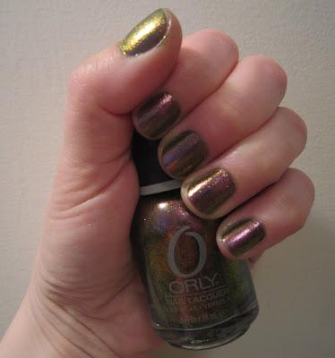 Orly, Orly Nail Polish, Orly Cosmic FX Fall 2010, Orly Space Cadet, Orly Cosmic FX Space Cadet Fall 2010 Collection, nail, nails, nail polish, polish, lacquer, nail lacquer, Orly Fall 2010 Collection, mani, manicure