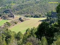 Les restes del mas i castell de Solivella