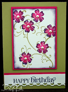 Vintage Vogue Birthday Card