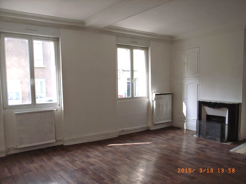 Vente appartement 3 4 pi ces saint denis for Salon porte de la villette