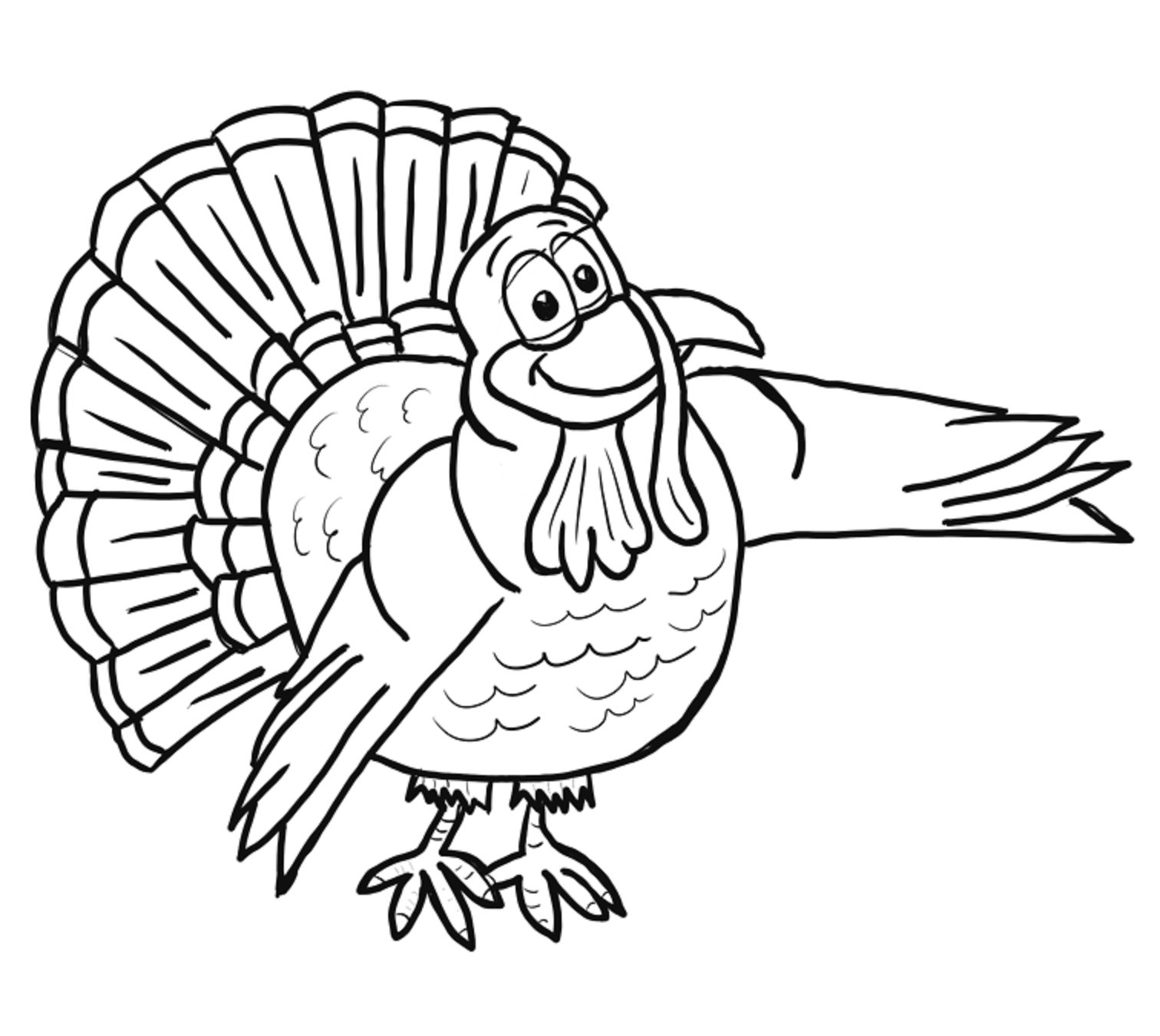 colours drawing wallpaper: Printable Thanksgiving Coloring Page for ...