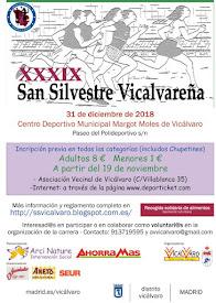 XXXIX San Silvestre Vicalvareña. 31 de diciembre