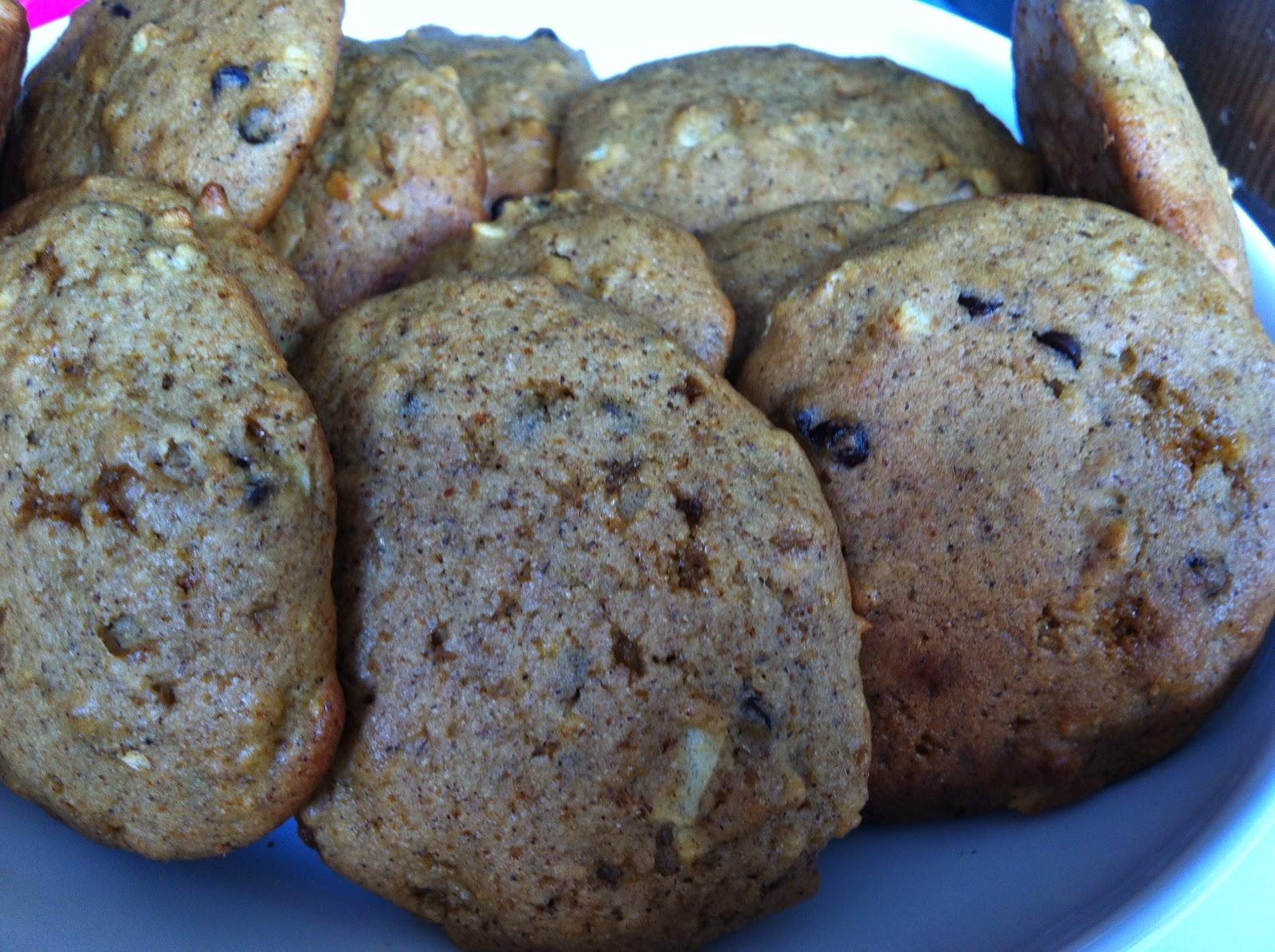 biscotti super veloci mela cannella e gocce di cioccolato