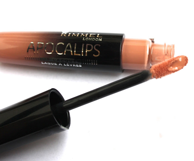 rimmel london apocalips lip lacquers nude eclipse