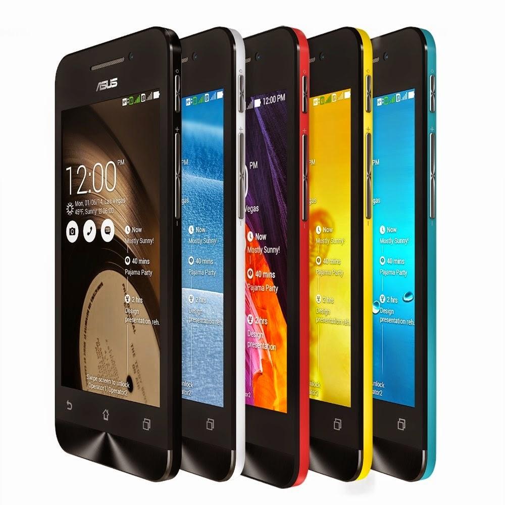 Harga Asus Zenfone 4 dan Smartphone Intel Atom