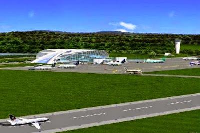 Konsep Bandara Kutai Kartanegara. ZonaAero