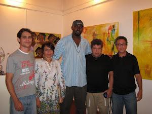 Exposição coletiva na Fundação Galeno d'Avelirio Casa da Cultura - Cruz das Almas - Ba