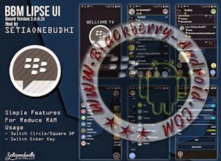 FREE BBM2 Mod Tema Lipse UI Versi 2.8.0.21 Apk