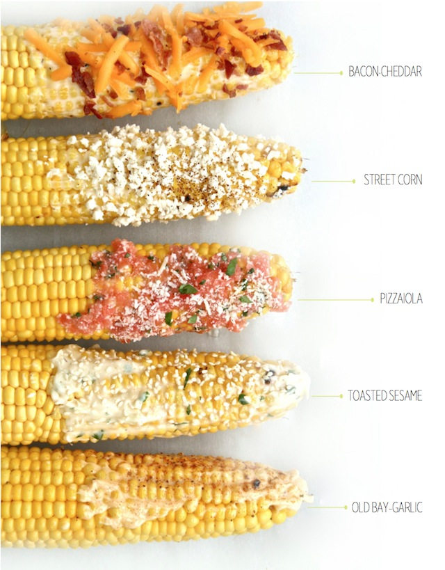 Grilled Corn-On-The-Cob 5 Ways—Simple Side To Sate Any Craving