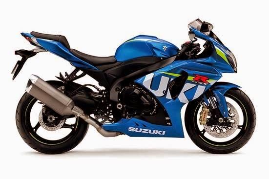 2015 Suzuki GSX-R1000 ABS Metallic Triton Blue