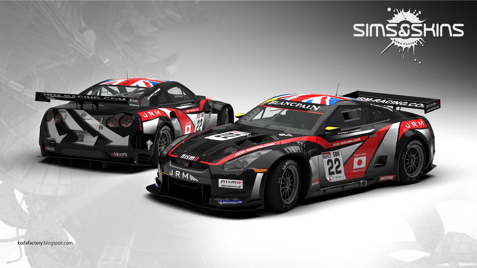 Koda Factory: JRMRacing : Nissan GTR GT1