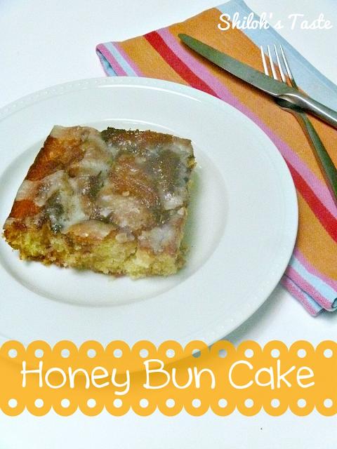 Honey Bun Cake | www.shilohstaste.com