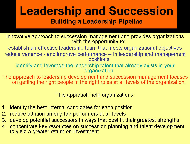 succession planning dissertations