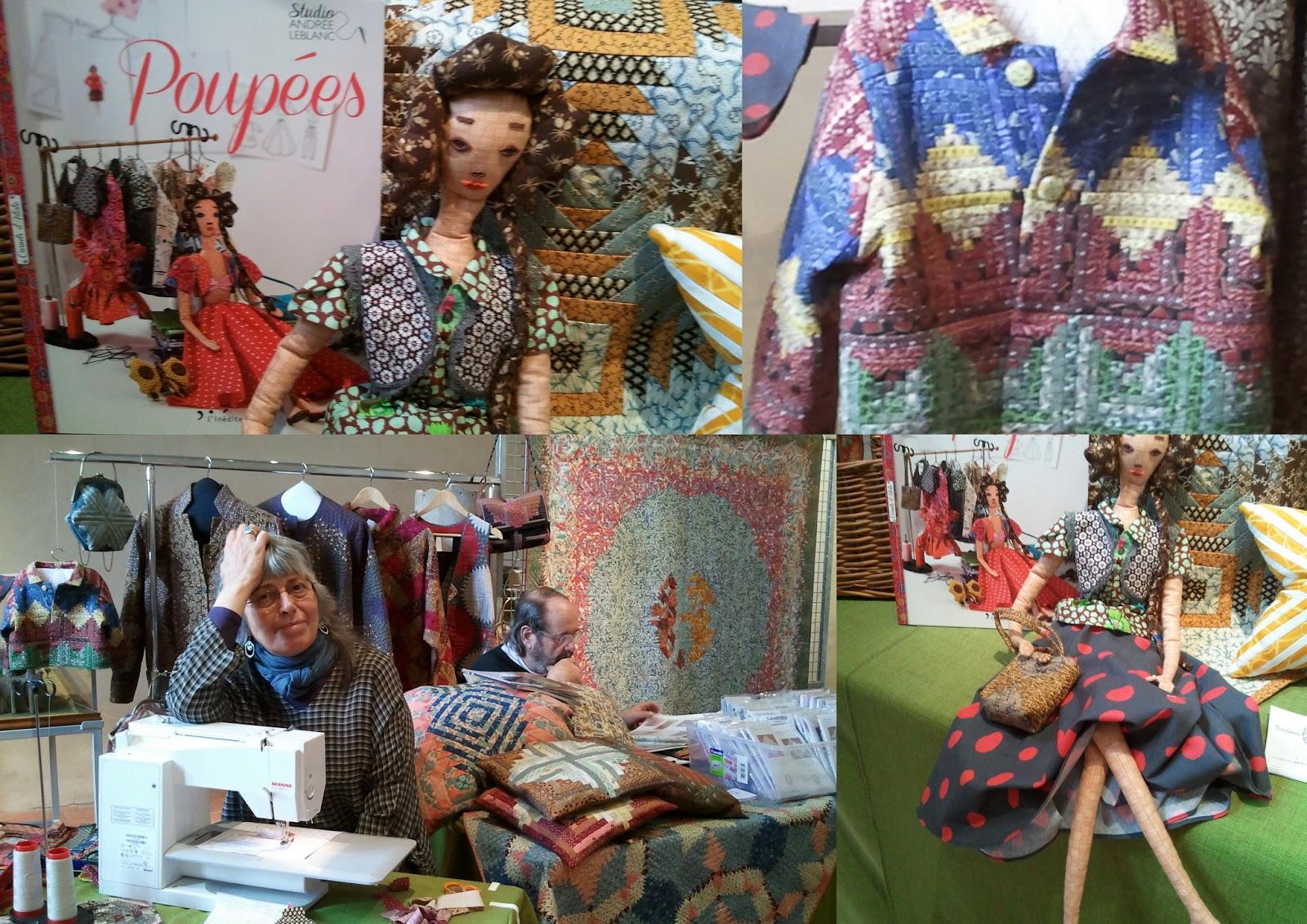 Andrée Leblanc Qui Présente Son Dernier Livre : Poupées à . Full resolution  pic, nominally Width 1600 Height 1131 pixels, pic with #3F5A8C.
