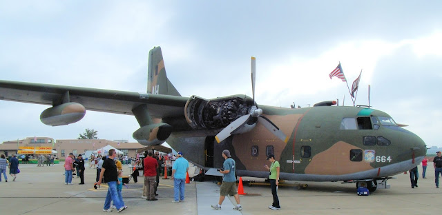 Fairchild C-123 Provider walk around photos