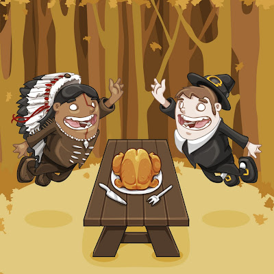 Thanksgiving Day e-card download free wallpapers for Apple iPad