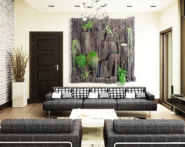 cuadros verticales jardines