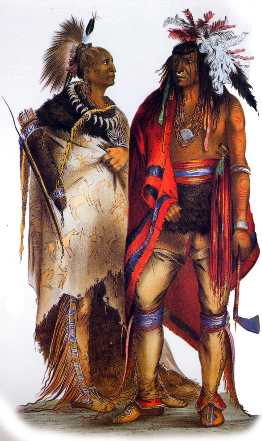 woodland indians: iroquois and algonquin - 8 humanities
