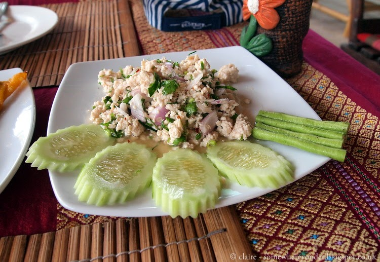 Fresh chicken salad - Ko Phi Phi Thailand