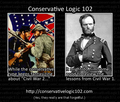 conservative civil war
