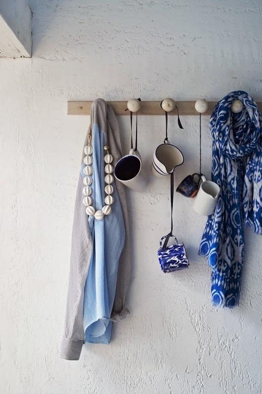 Detalles casa azul