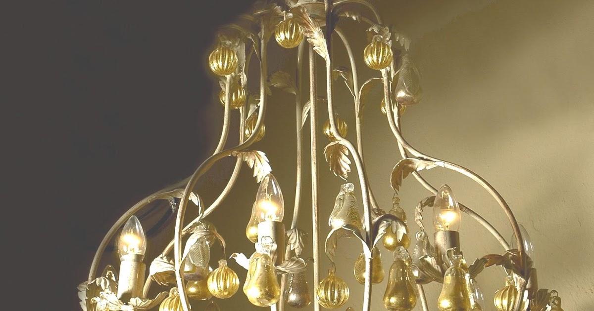 Lampadari Rustici : 600/8 rosaline otto luci shabby chic