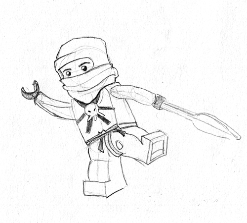 Ninjago Coloring Pages http://stevecoffin.blogspot.com/2011/10/day-118-lego-ninjago.html