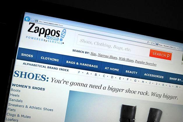 Zappos - Site - E-commerce