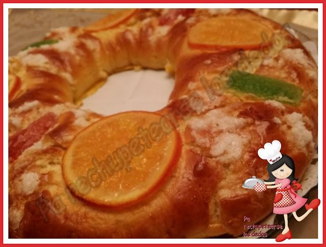 * Roscón De Reyes Expres (thermomix Y Tradicional)