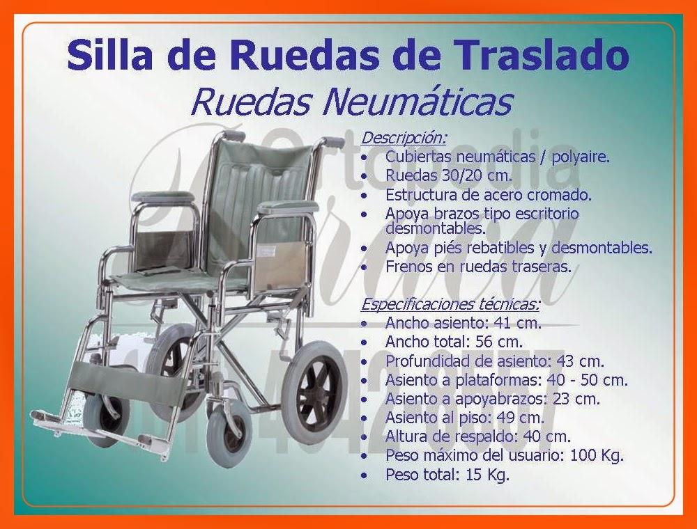 Sillas de ruedas ortopedia beraca sillas de acero for Sillas de ruedas estrechas