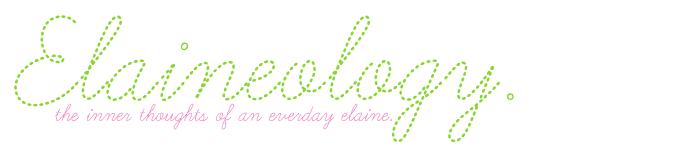 everyday elaine.