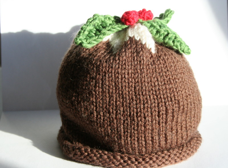 Knitting Pattern For A Christmas Pudding : driftwood: baby hat knitting