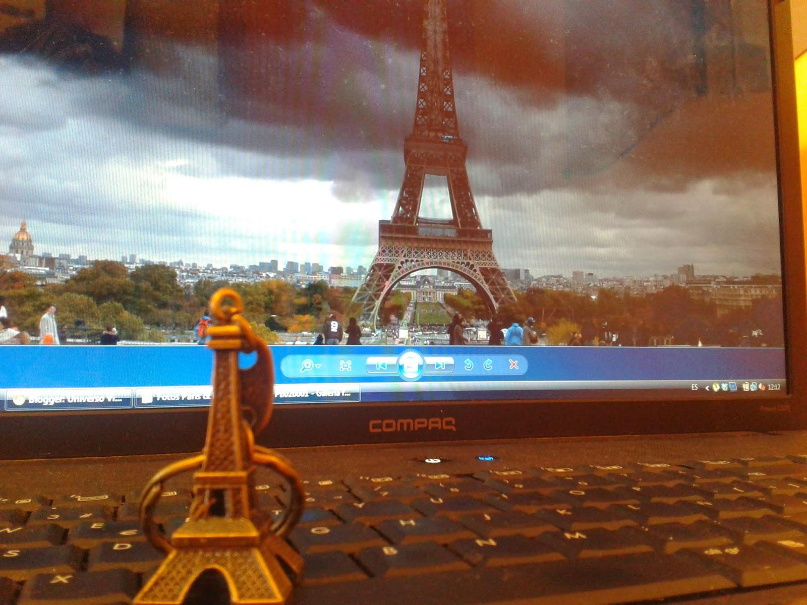 Premio Concurso I Aniversario Universo Viajero, Llavero Torre Eiffel