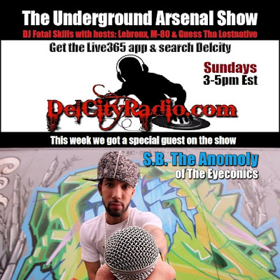 https://www.mixcloud.com/DelCityRadio/the-underground-arsenal-show-with-special-guest-sb-the-anomoly/