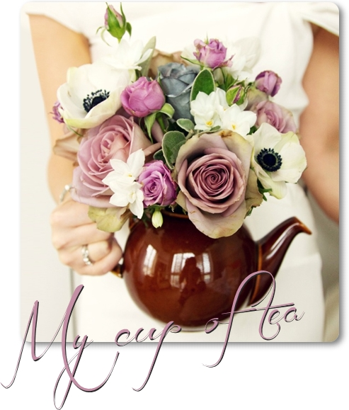 vintage flowers, vintage ros, lila ros