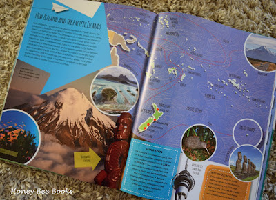 How to prepare kids for an overseas holiday by reading an Atlas
