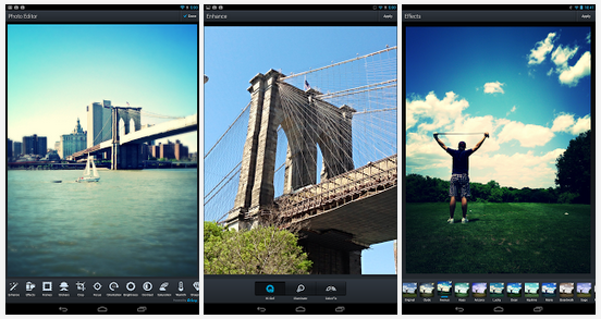 Free Aviary Android Photo Editing App