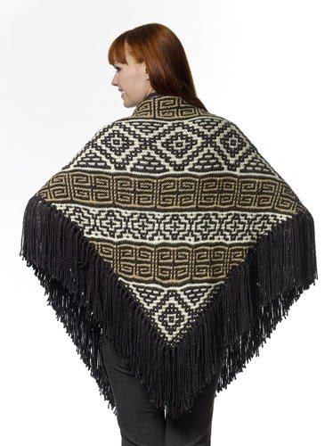 Knitting Pattern Errata : Margrets Musings: Aztec Shawl Errata