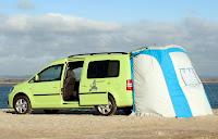 Volkswagen Caddy Maxi Camper (2013) Rear Side