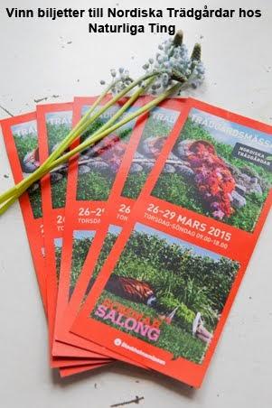 Vinn biljetter till Nordiska Trädgårdar