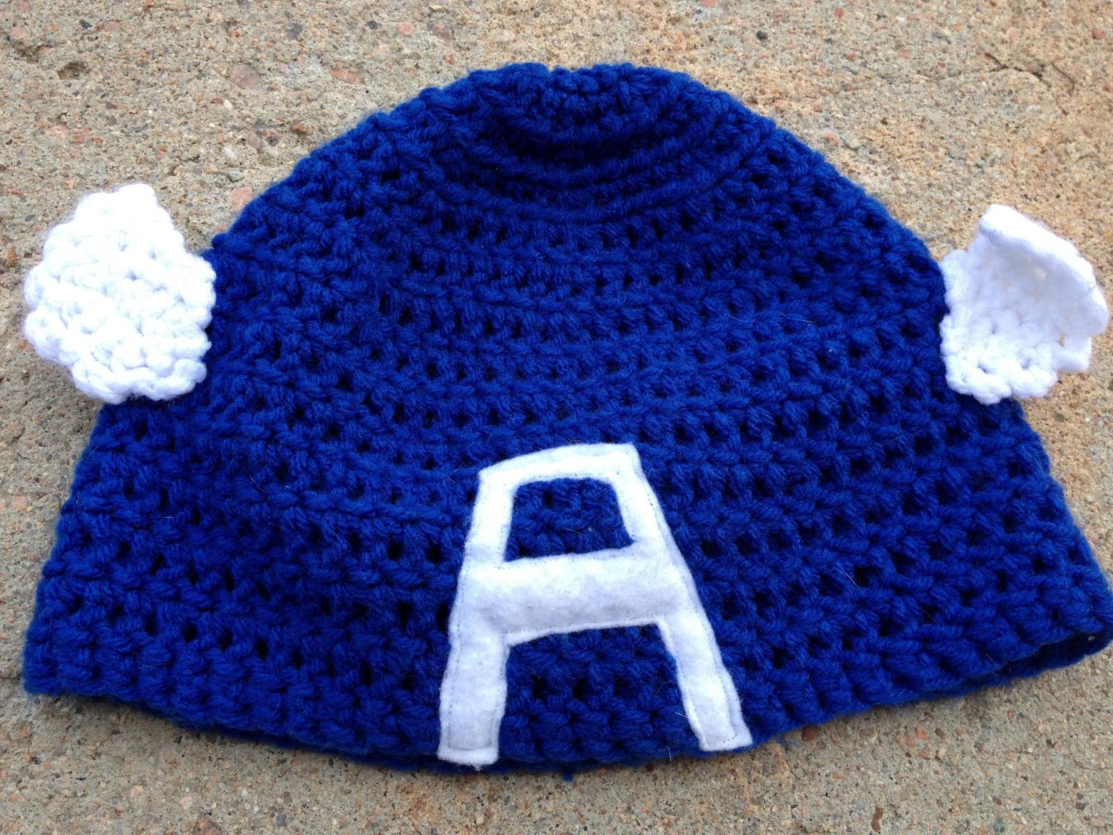 Cherelledx Crochet Captain America Beanie