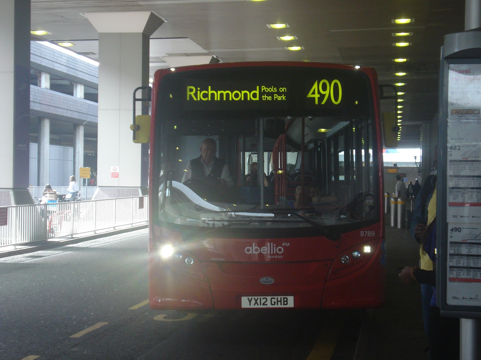 bus 490 List of bus routes in london three double deck buses on routes 53, 11 and 88 two single deck buses on route 393 this is a list of transport for.