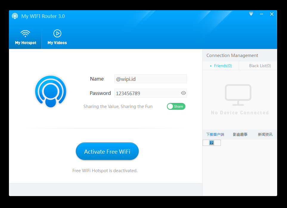 how to download connectify for free