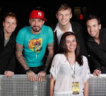 Yo con los Backstreet Boys
