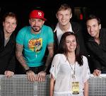 Yo con los Backstreet Boys