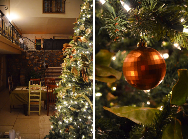 Deck the Halls Treetopia Evergreen Winter Balsam Spruce Magnolia Woodland Christmas Tree