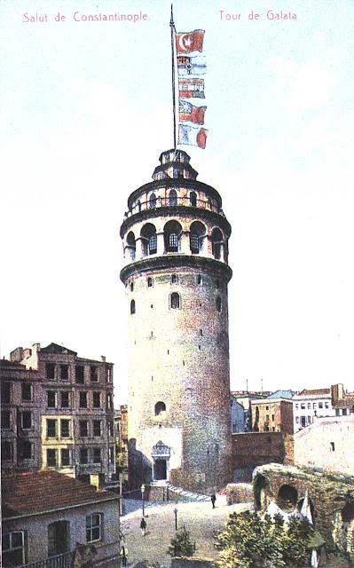 Eski Galata Kulesi Fotoğrafları
