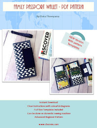 Family Passport Wallet PdF Pattern